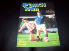 Ipswich Town v Arsenal, 1980/81